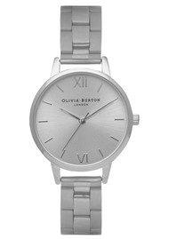 Olivia Burton Midi Dial Bracelet Watch - Silver