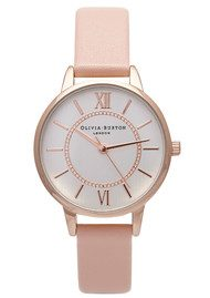 Olivia Burton WONDERLAND WATCH - MIX ROSE GOLD, SILVER & DUSTY PINK