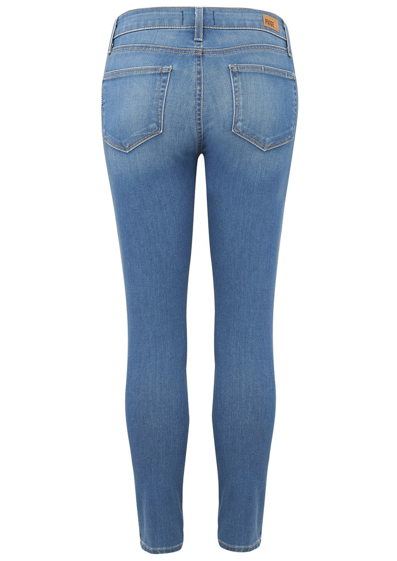 Paige Denim VERDUGO CROP MID RISE ULTRA SKINNY JEAN - HALSTEAD main image