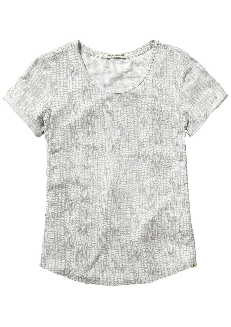 Maison Scotch ALL OVER PRINTED TSHIRT - COMBO C main image