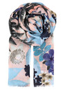 O - WINTER BLOSSOM COTTON SCARF - COTTON CANDY additional image