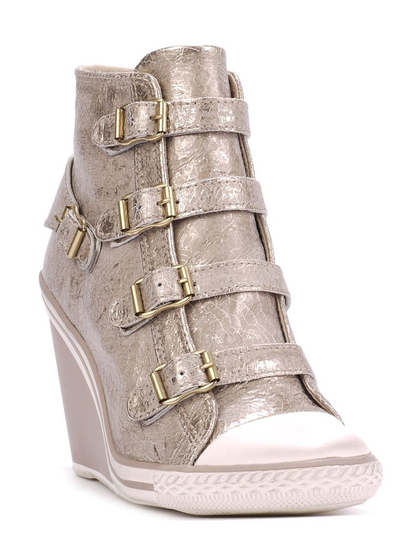 Ash Thelma Wedged Trainer - Topo Gold main image