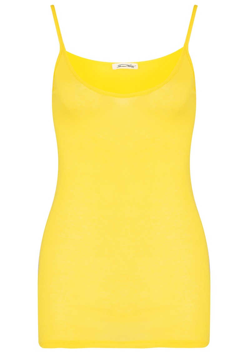 MASSACHUSETTS CAMI TANK - CANARY main image