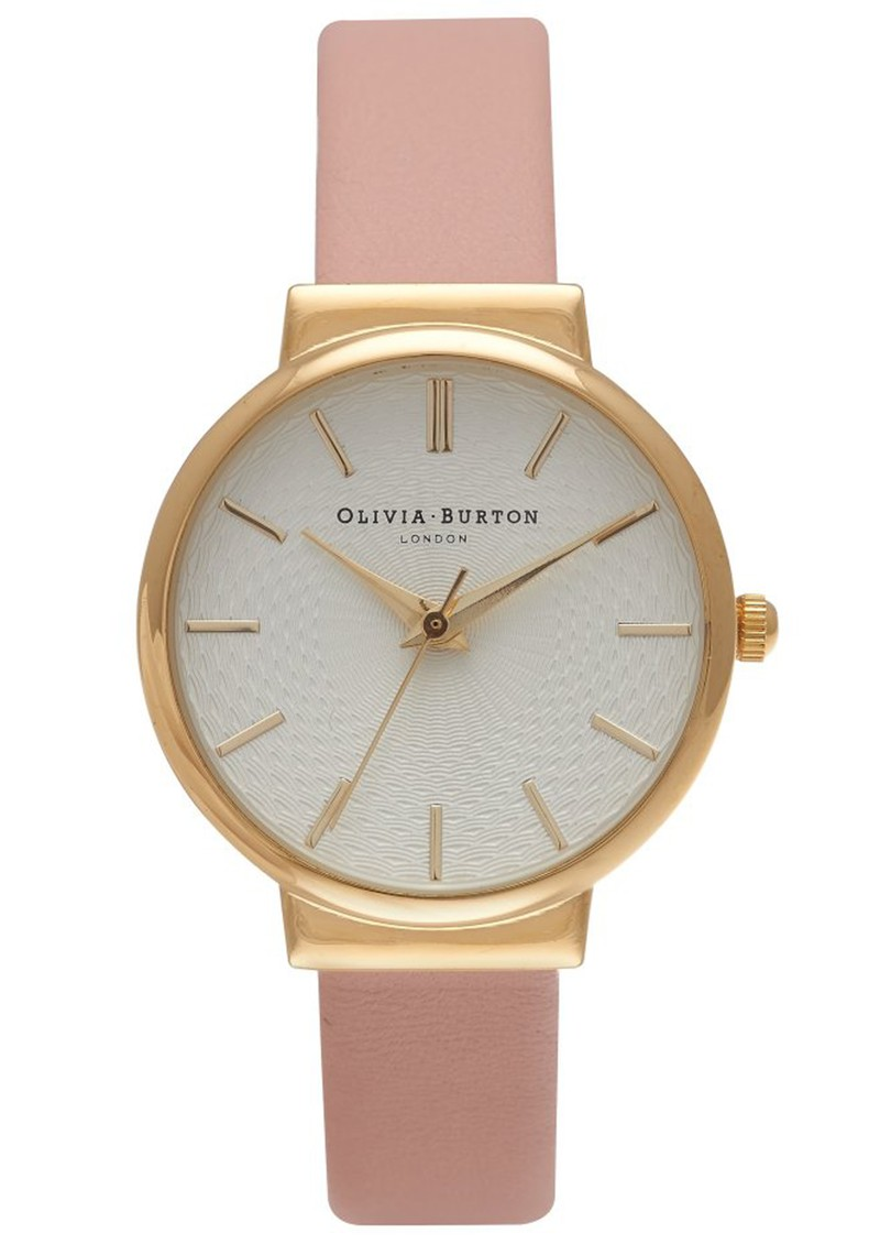Olivia Burton THE HACKNEY WATCH - DUSTY PINK & GOLD main image