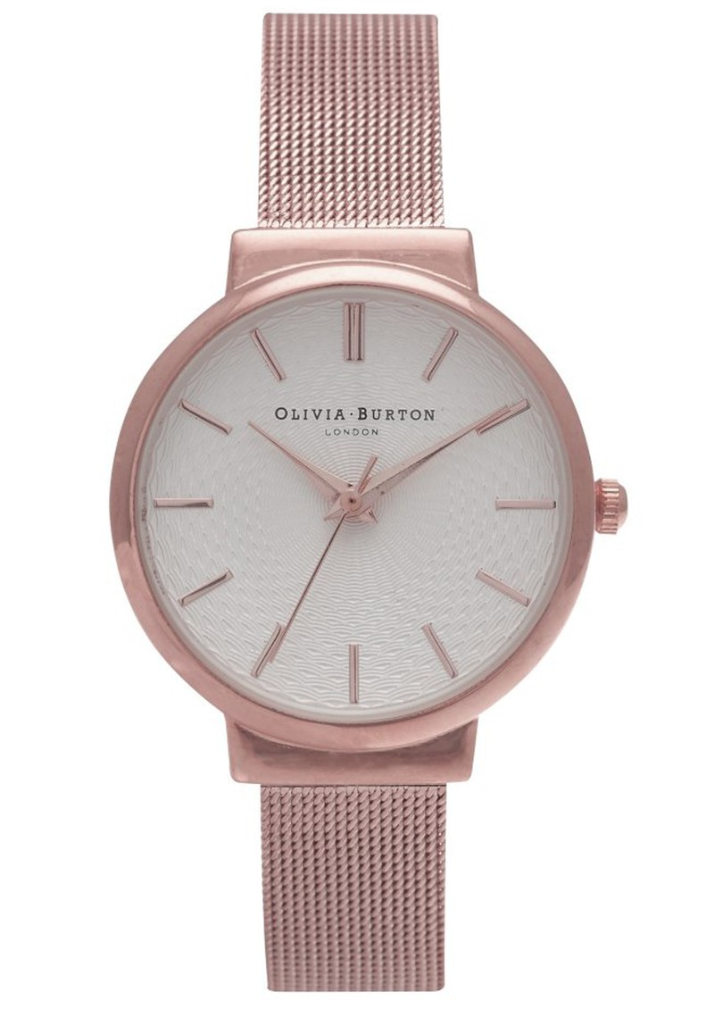 THE HACKNEY MESH WATCH - ROSE GOLD main image