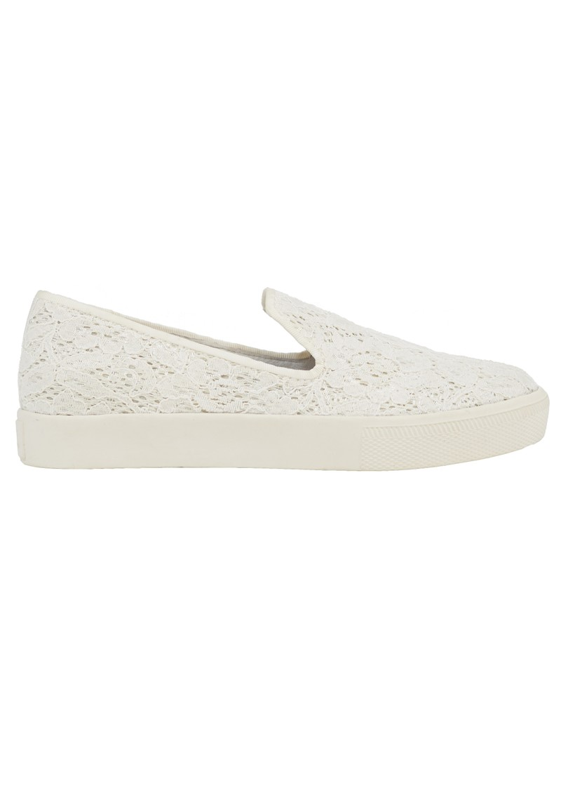 Ash ILLUSION FLOWER LACE TRAINERS - WHITE main image