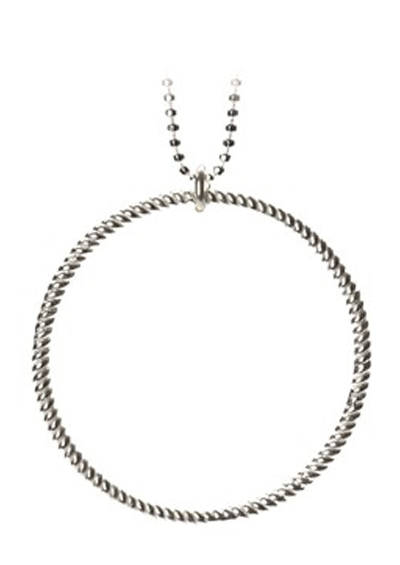 PERNILLE CORYDON Big Twisted Necklace - Silver main image