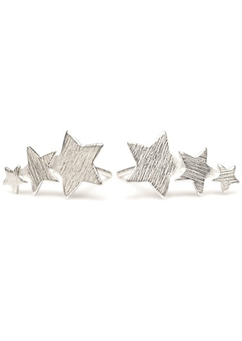 PERNILLE CORYDON SHOOTING STAR EARRINGS - SILVER main image
