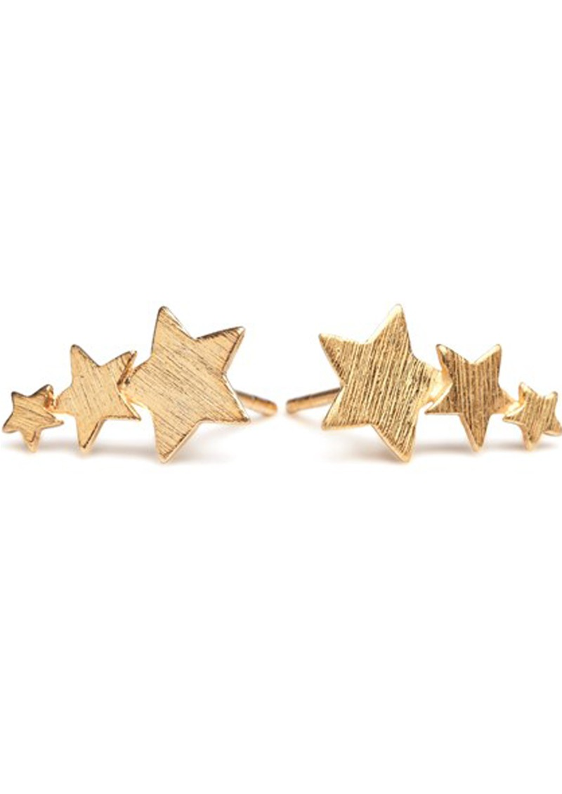 SHOOTING STAR EARRINGS - GOLD main image