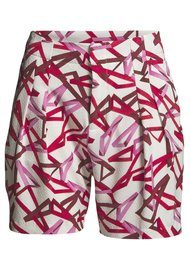 2nd Day RECCO PRINTED SHORTS - FIRE BRICK
