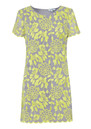 Great Plains CRYSANTHEMUM EMBROIDERED DRESS - DAFFODIL