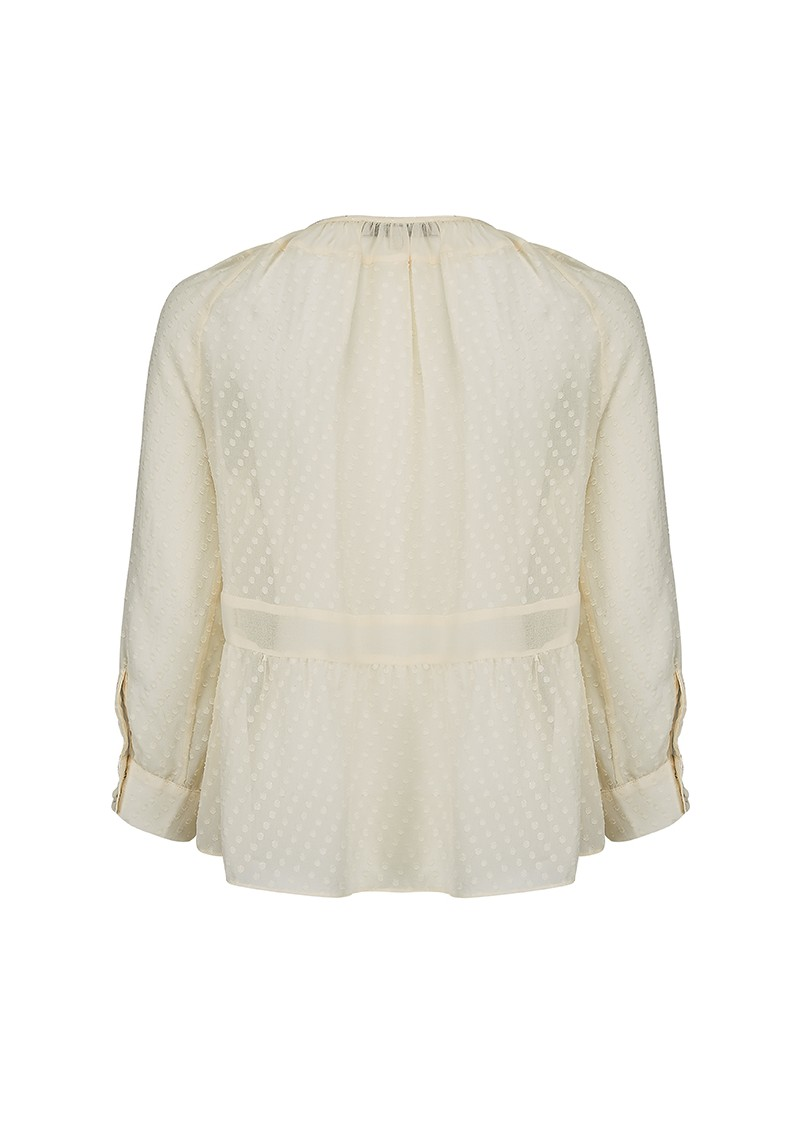 Paul and Joe Sister COTILLON BLOUSE - CREAM main image