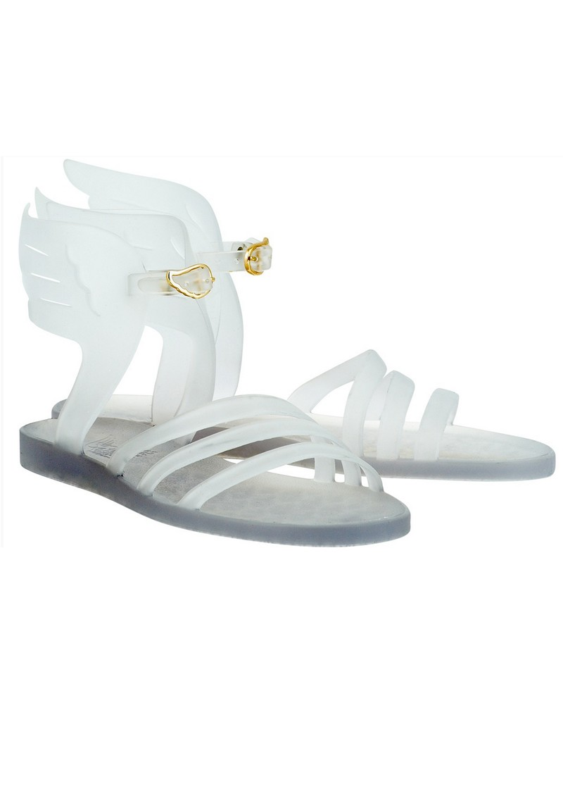 Ancient Greek Sandals IKARIA JELLY SANDAL - CLEAR GREY main image