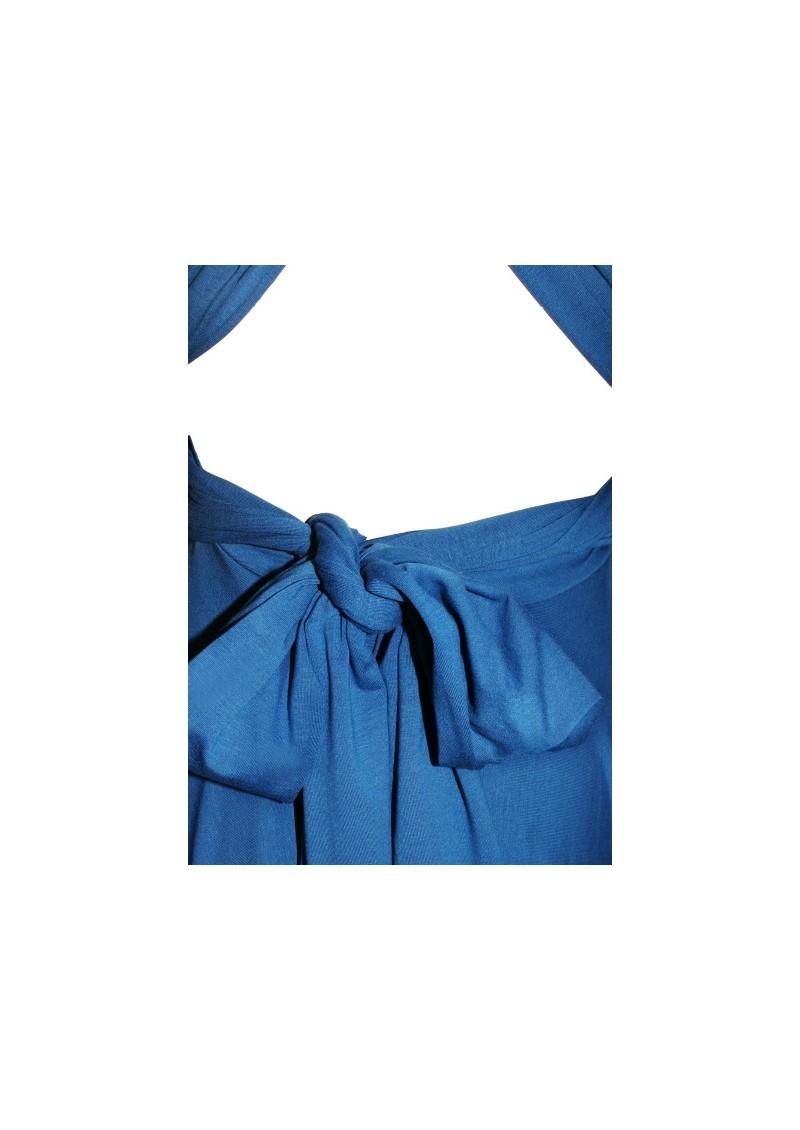 Butter By Nadia Short Jersey Dress - Sapphire main image