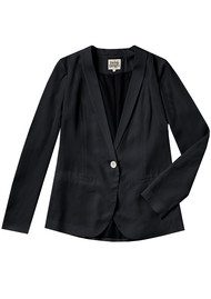 Twist and Tango ELIANA BLAZER - WASHED BLACK