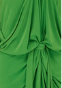 FRONT TIE WAIST HALTER DRESS - GREEN  additional image
