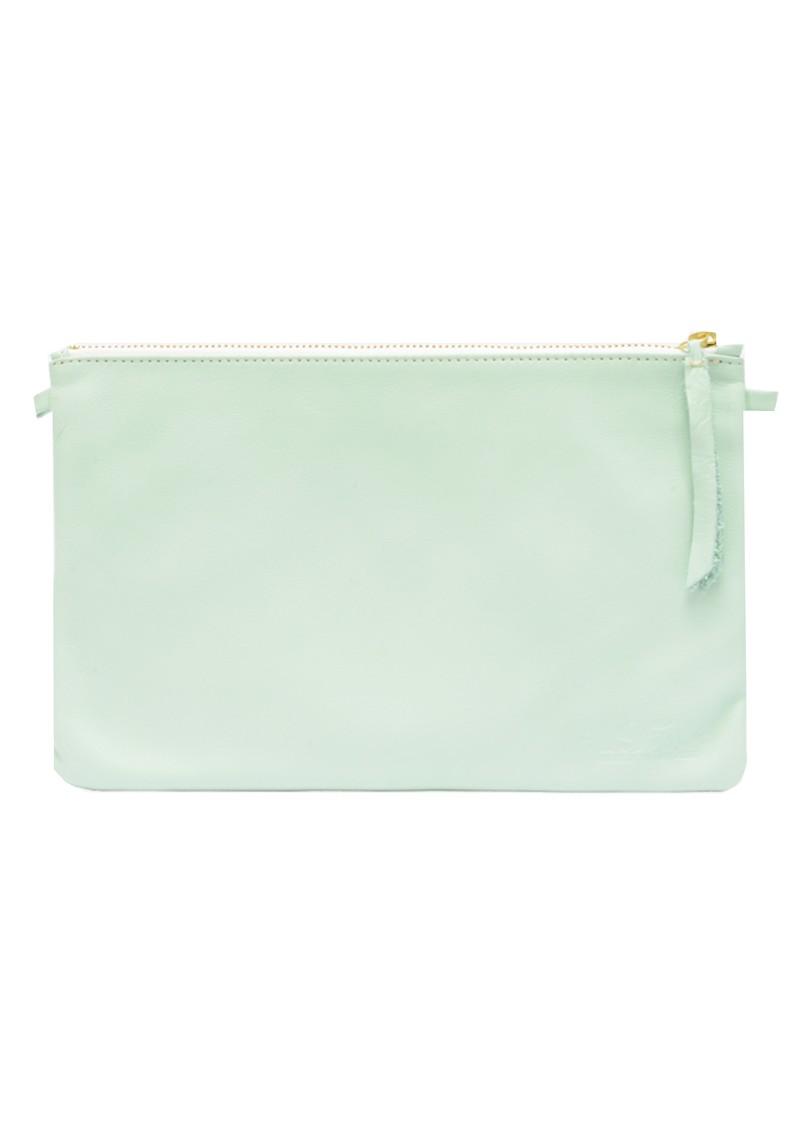1951 Maison Francaise  Pochette Clutch Bag - Vert Pastel main image