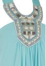 Blank ZIAH LONG DRESS - MINT BLUE