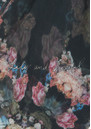 Lily and Lionel Sirena Floral Scarf - Black