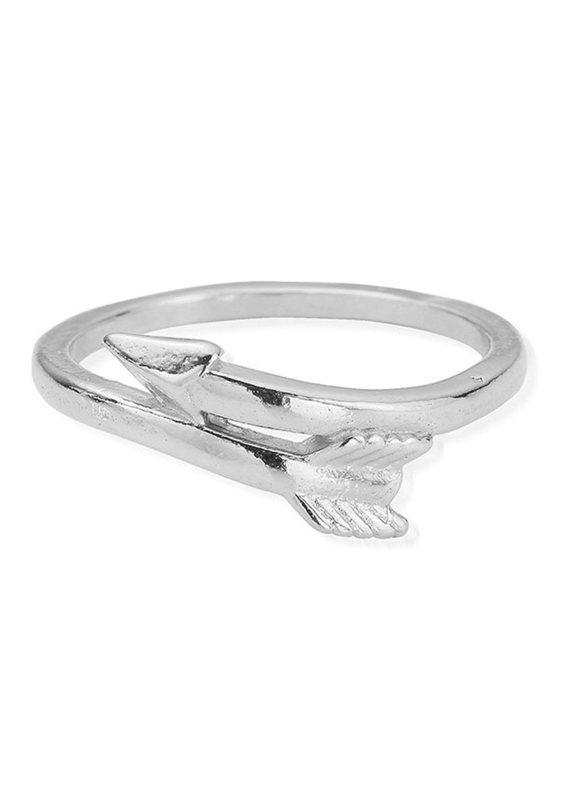 ChloBo Sun Dance Cherish Arrow Ring - Silver main image