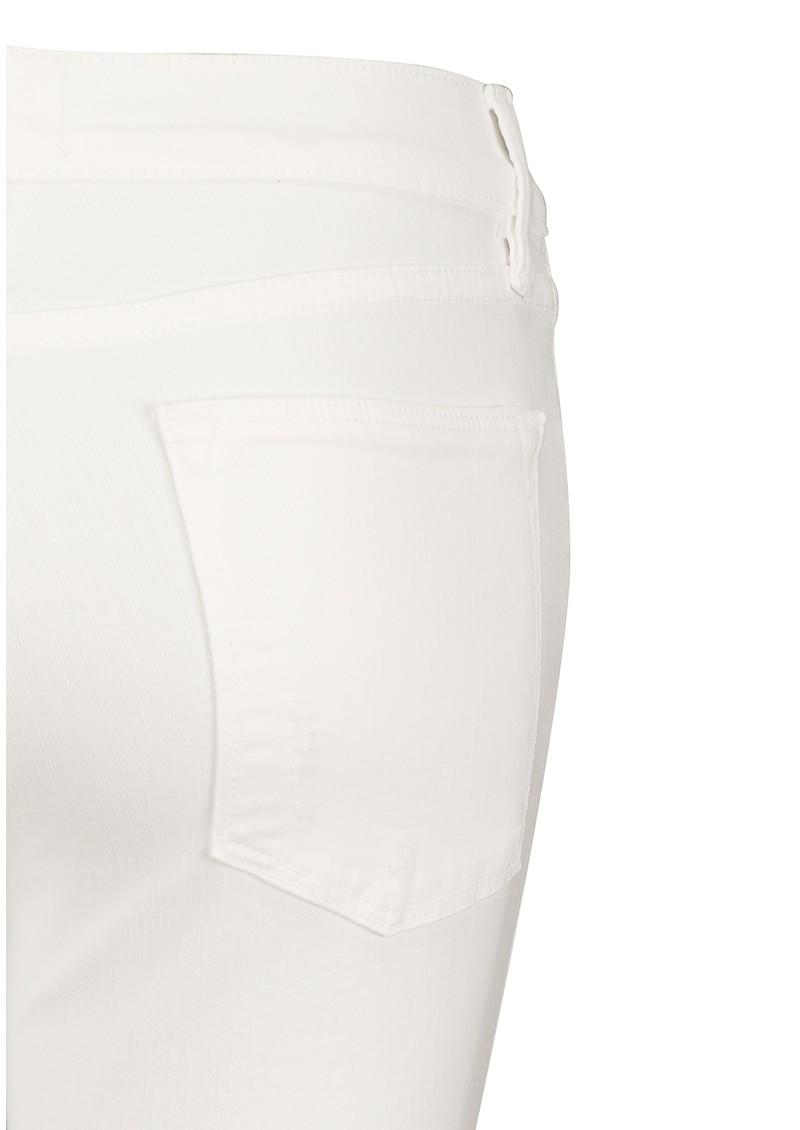 Frame Denim Le High Skinny Ripped Jeans - Blanc main image