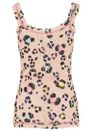 Hanky Panky Unlined Printed Lace Cami - Inky Leopard