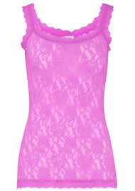 Hanky Panky Unlined Lace Cami - Berry Sweet