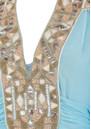 Rigvedic Embellished Dress - Dusty Blue additional image