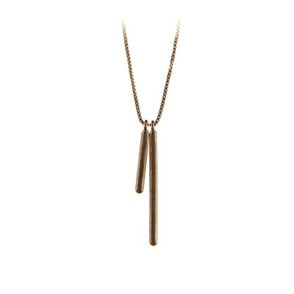 Stick Necklace - Gold