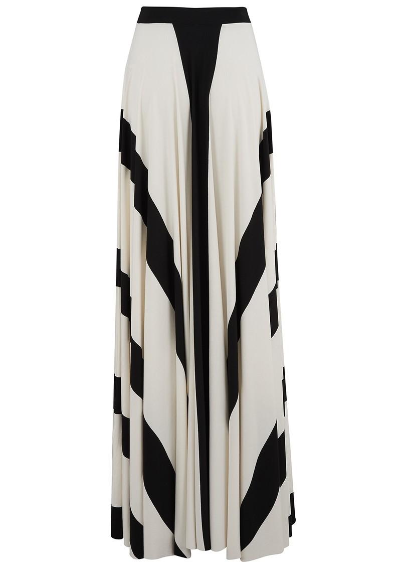 NADIA TARR Ball Gown Skirt - Banded White main image