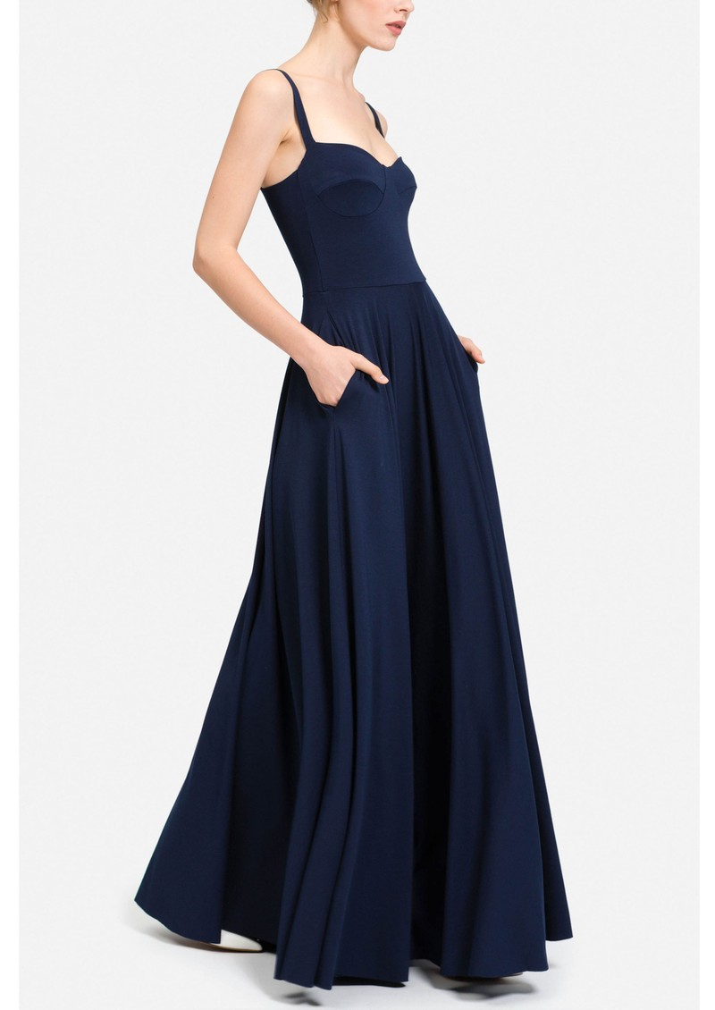 NADIA TARR Bustier Gown - Navy main image