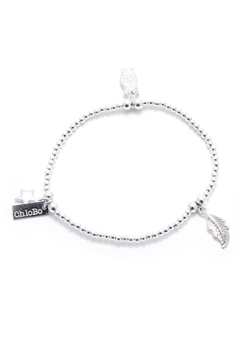 ChloBo EXCLUSIVE Sun Dance Bracelet - Silver main image