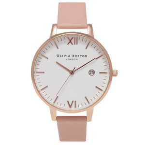 Timeless White Face Watch - Dusty Pink & Rose Gold