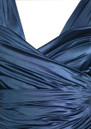 Butter By Nadia Long Satin Ball Gown - Navy
