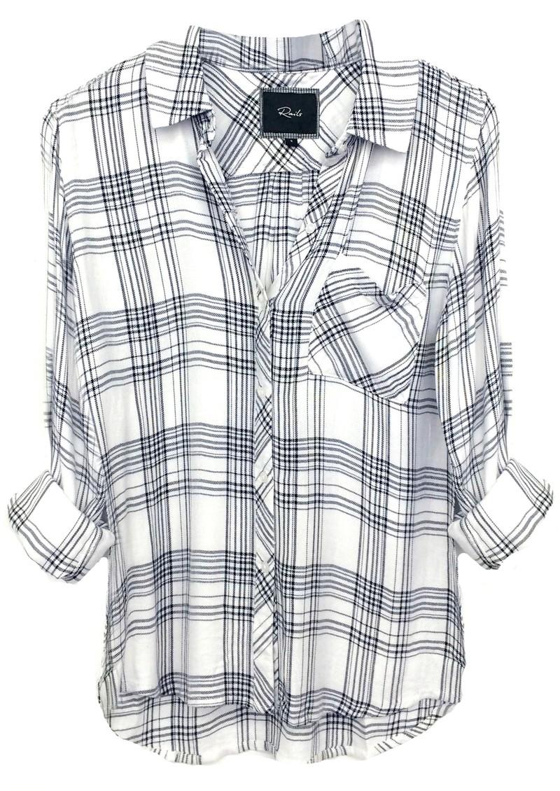 Rails Hunter Shirt - Ivory Noir  main image