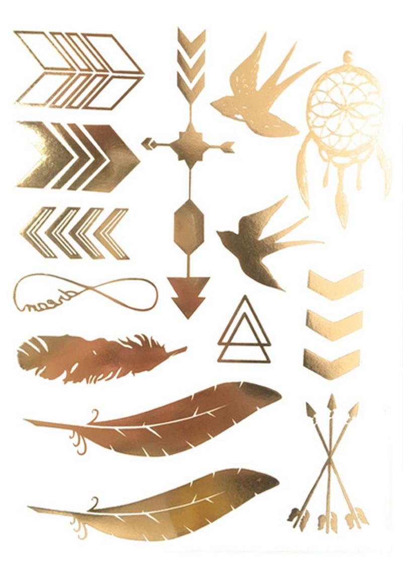 ANOUSKA WOODS Temporary Tattoos - Serenity main image
