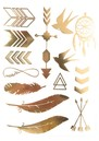 ANOUSKA WOODS Temporary Tattoos - Serenity