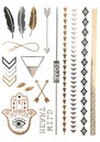 ANOUSKA WOODS Temporary Tattoos - Hamsa Hand