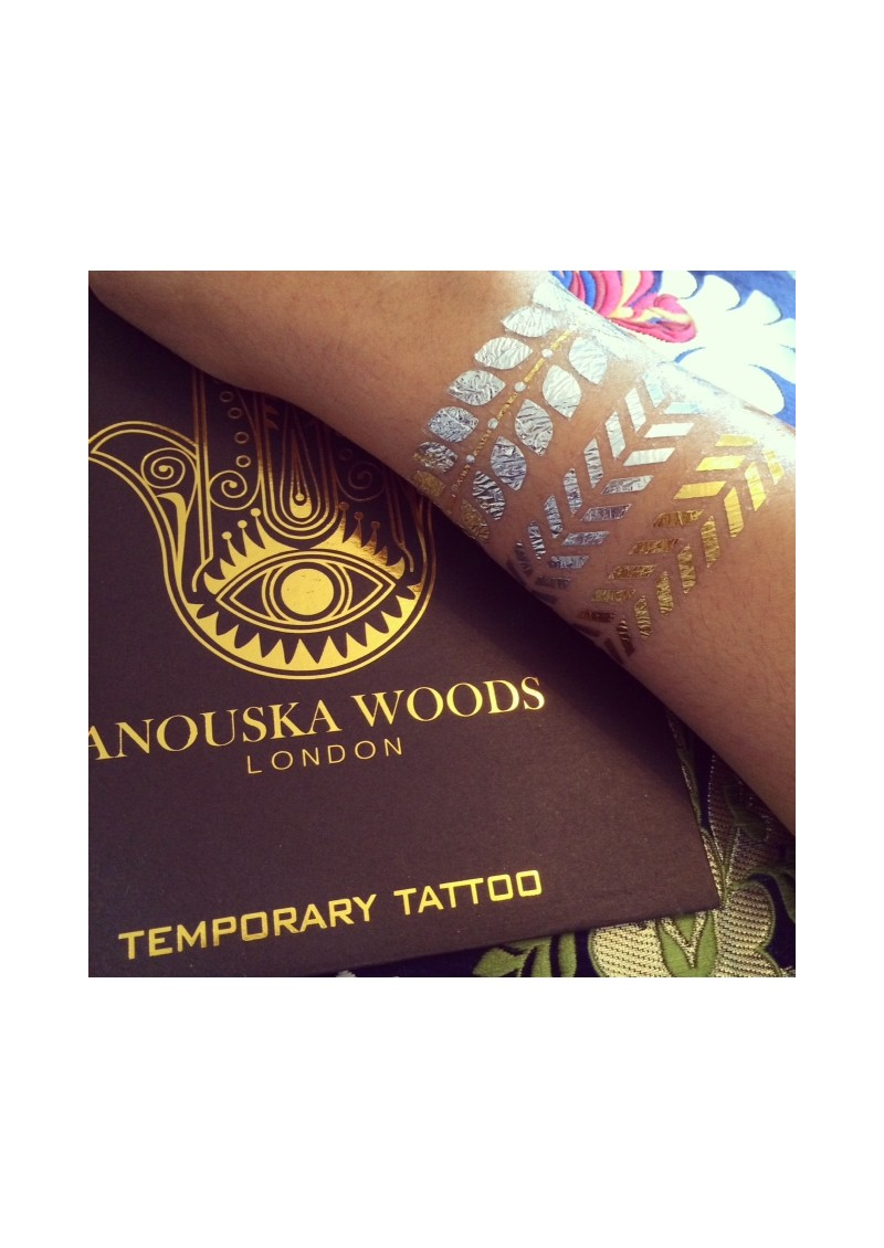ANOUSKA WOODS Temporary Tattoos - Hamsa Hand main image