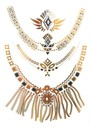 ANOUSKA WOODS Temporary Tattoos - Statement Necklaces