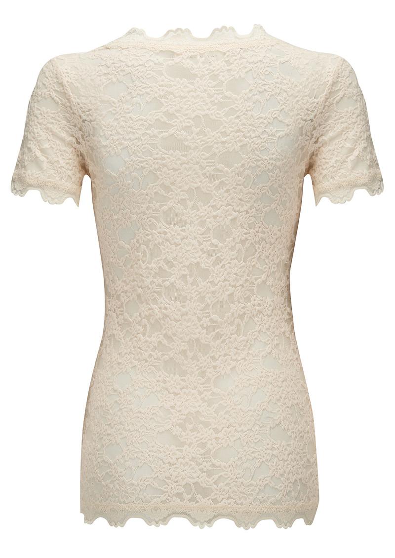 Rosemunde Short Sleeve Lace Tshirt - Marble main image