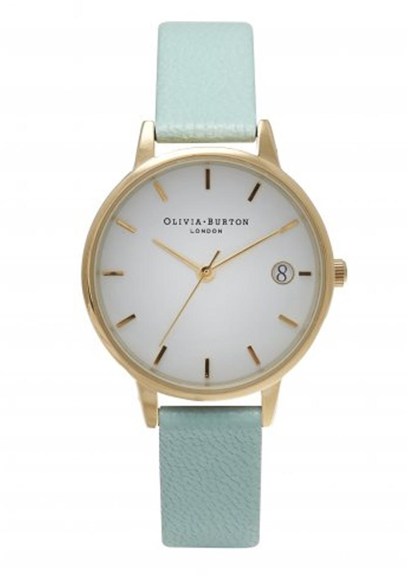 Olivia Burton The Dandy Midi Dial Watch - Mint & Gold main image