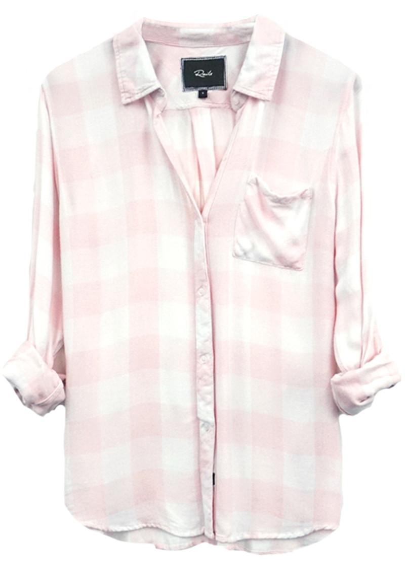 Hunter Shirt - Pink and White Check main image