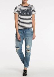 Maison Scotch Short Sleeve Sweater - Combo A