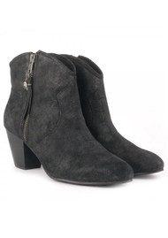 Ash Jess Reverse Broken Boots - Black