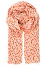 Becksondergaard T-Bushwick Cotton Scarf - Neon Orange