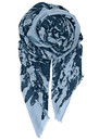 T-Norwood Silk Mix Scarf - Classic Navy additional image