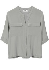 Pyrus Joni Silk Pocket Shirt - Eau De Nil