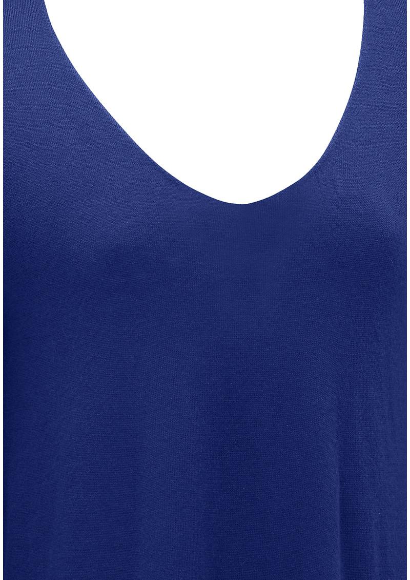 American Vintage Blossom Long Sleeve Sweater - Indigo main image