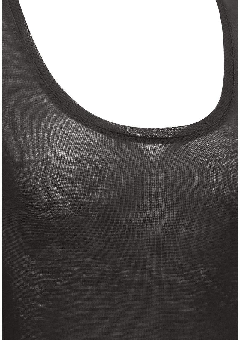American Vintage Massachusetts Long Sleeve Tee - Carbon main image
